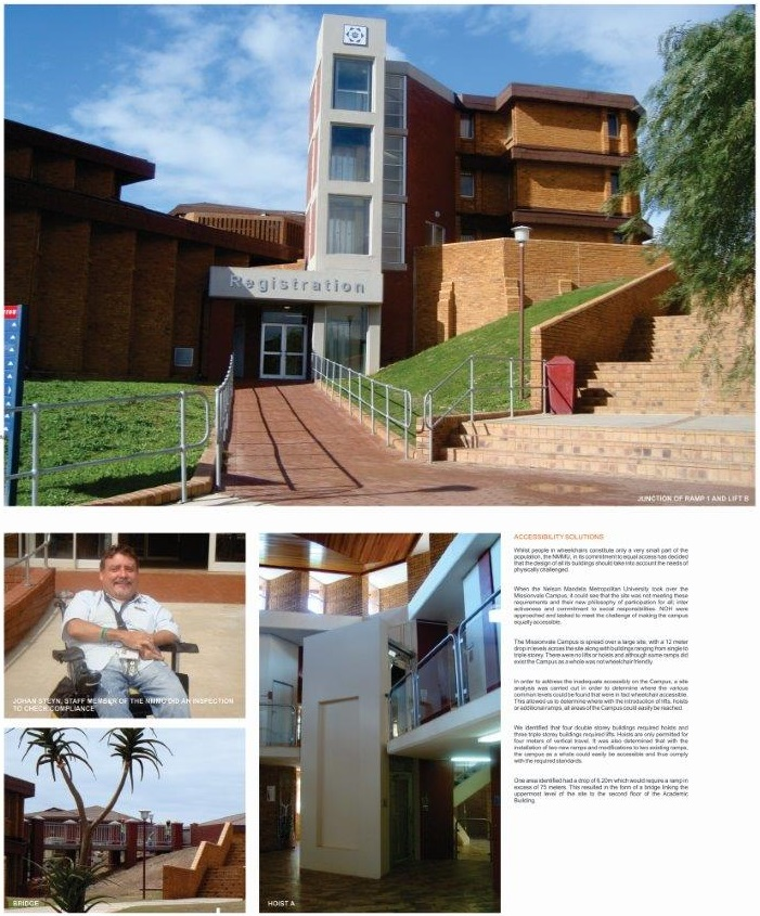 NMMU Missionvale Campus Accessibility Solutions Pg 1