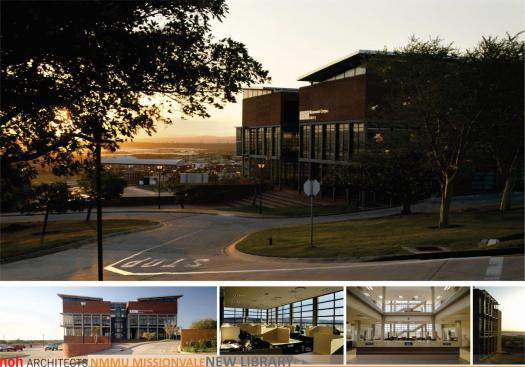 NMMU Missionvale Campus New Library - 1